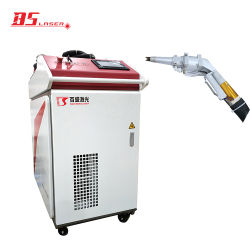 Переносной сварочный аппарат лазерной волокон портативного устройства для алюминиевых углеродистая сталь из нержавеющей стали