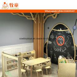 Escuela de juego madera de abedul muebles de sala de juego de rol