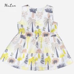 الأطفال بيع ساخنة ملابس فتاة الصيف ليمون القطن الأطفال تنورة الأميرة طفل اللباس