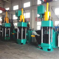 Resíduos de alumínio automática de sucata de metal de ferro briquetes de Hidráulica industrial de máquinas de reciclagem pressionando o ferro