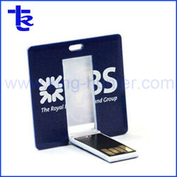 Dispositivo di memorizzazione del USB/azionamento di plastica dell'istantaneo del USB della scheda di figura della scheda USB/Square