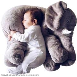 Il cuscino dei capretti dell'elefante calma bambola di pezza regalo di natale dei giocattoli della peluche