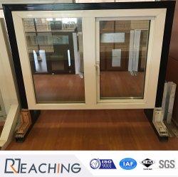 Stoffa per tendine della finestra di profilo del materiale da costruzione UPVC/PVC con la serratura unica della maniglia