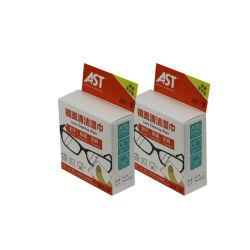 Commerce de gros de la fabrication de papier chinois lingettes à lentille unique