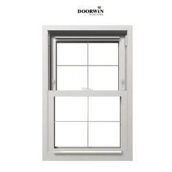 La marca de hardware estadounidense Caldwell madera Puertas y ventanas de aluminio de diseño de la rejilla cristal deslizante vertical