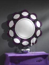 ديكور الزهور مرآة الجمال مرآة الجدار للديكور المنزلي