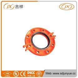 La norme ASTM A536 en fonte ductile Split brides de tuyau cannelé