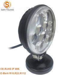 4 pouces LED ronde des feux de conduite 27W Dernière conception voiture 4X4 de la conduite hors route chariot lampe de feu de brouillard de travail de toit