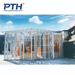 Villa classique simple bâtiment préfabriqué chambre avec un faible coût