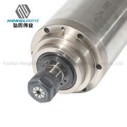 Monatliche Angebote hohe Steifigkeit 3kw ER20 Wasser Kühlspindel für CNC-Maschine