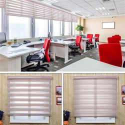 De Gestreepte Zonneblinden van de Elektriciteitspanne van de Zonneblinden van de Producten van Finshed van het venster 12 Kleuren voor de Bevordering van de Verkoop