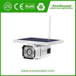 100% 태양 배터리 전원을 사용하는 방수 옥외 WiFi 야간 시계 IR 안전 CCTV 디지털 IP 사진기
