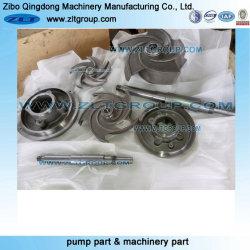 ステンレス製または炭素鋼が付いている化学遠心水ポンプのコンポーネント