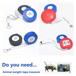 Personnalisé cochon d'animaux (bovins) Mesure de poids de la bande avec votre logo ou la conception