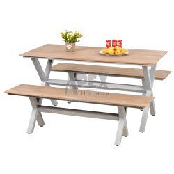 Meubles de jardin Meubles de salle à manger en plein air Polywood meubles avec table et chaise