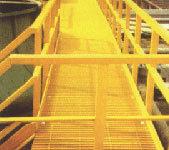 El FRP Valla valla de la carretera de la escalera del guardarraíl