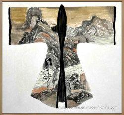 Абстрактные Картины маслом на холсте толстую текстуру древних платье-01