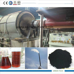 15 ton de borracha de tomada de plantas de borracha de pirólise de resíduos de óleo