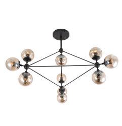 ひし形デザイン簡単なしかし現代鉄の天井灯