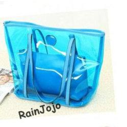 حقيبة تسوق فاشional PVC للترويج للبيع الساخن