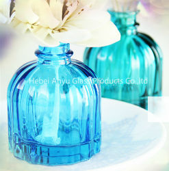 bottiglia di vetro del diffusore della canna dell'aroma 100ml, diffusore a lamella con i bastoni del rattan
