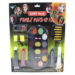 Vernice lavabile non tossica del fronte del camuffamento di Halloween del kit di trucco del fronte del partito