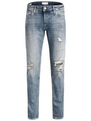 Ripped Skinny Jeans hommes jeans Mans 100 coton Streetwear Jeans