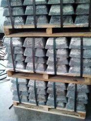 Uso de la batería de grado industrial lingote de antimonio el 99,9% Alta calidad 25kg.