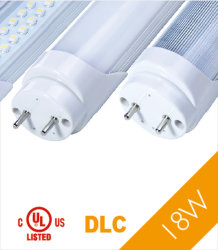 El tubo de luz LED T8 de 347V UL/cUL DLC