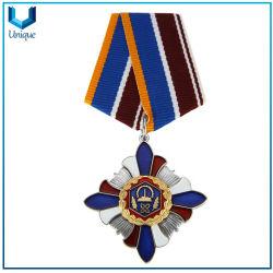 Entwurfs-Abzeichen-Medaille, Militärmedaille, Polizei-Andenken-Medaille, hartes Decklack-Abzeichen in 3D, Qualitäts-Medaillen-Abzeichen anpassen