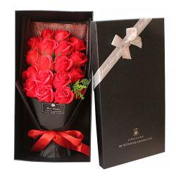 Rosa de jabón Flor Flores artificiales Rose Flor para regalo del Día de la Madre Día de San Valentín y otras vacaciones