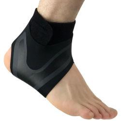 Suporte de tornozelo tornozelo leve ajustável suporte 360 Respirável esteio da Luva do tornozelo