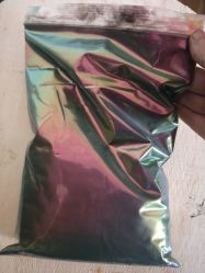 Commerce de gros Or Rouge Vert Caméléon Hypershift Chrome le pigment de peinture Cutom