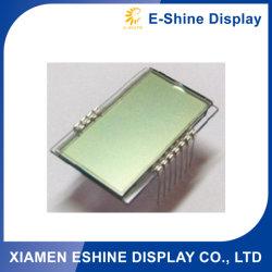 La pequeña pantalla LCD en miniatura personalizada de iluminación de fondo gris