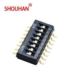 Interruptor de Discagem/SMD SMT decodificação de DIP switch deslizante 16 Pino 1,27 Pitch