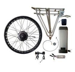 Aprovado pela CE 36V350W Brushless Motor de Acionamento Traseiro com11ah partes separadas de bicicletas eléctricas da bateria