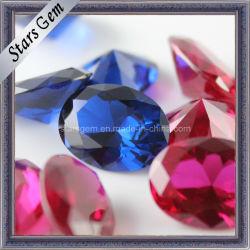 Semi-Precious Gemstone Beads 5# Ruby et 34# pour les bijoux de Saphir