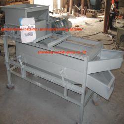 Tk-400 Apricot Kernel / Avellana / Paml semillas descascarado máquina