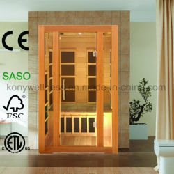 2 Huis van de Sauna van de persoon het Droge voor BinnenGebruik