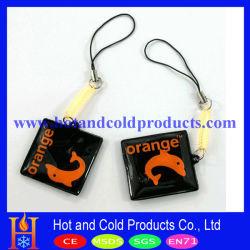 Cuffia per cellulare da 3,5 cm con riempimento a liquido e molla in plastica (MPC-010)
