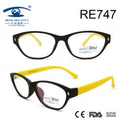 Unisex Plastic Design Óptica Óculos de leitura (RE747)