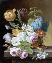 100% handgemachtes Acrylic Paintings Flowers auf Canvas Wall Art für Home Decoration (ECH-116)