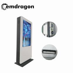 大型広告プレーヤーフォトプリンター広告プレーヤー 55 インチモールキオスク最高のサービスと低価格 LED/LCD デジタルサイネージタッチスクリーンを備えた広告製品