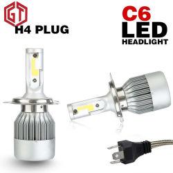12V 24Vの穂軸H1 H3 9006を冷却する卸売価格の明るいファン9005 H11 H4 C6 LEDのヘッドライトLED H7