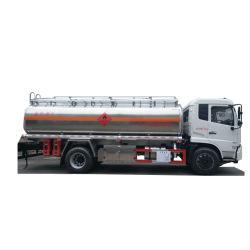 Het op zwaar werk berekende Elektrische voertuig van de Vrachtwagen 8000 Gallons 10/12 Olie van het Water van de Meters van de Kubus vouwt Tankwagen op