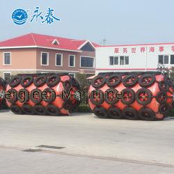 Cuscino ammortizzatore riempito di gomma piuma marittimo sempreverde