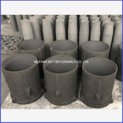 El frío resistencia al calor de radiación Sisic tubo para horno de templado