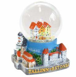 Tallin, Estonia Snow Globe de regalos Regalos