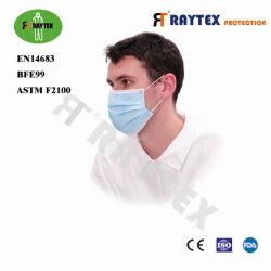 Raytex 11031 Não Tecidos 3 camadas de Máscara Tipo Earloop abastecer directamente de fábrica