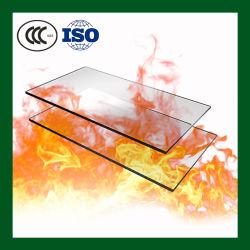 Огнеупорные устойчив к высокой температуре закаленного боросиликатного пользовательского размера 10мм закаленного стекла в мастерской